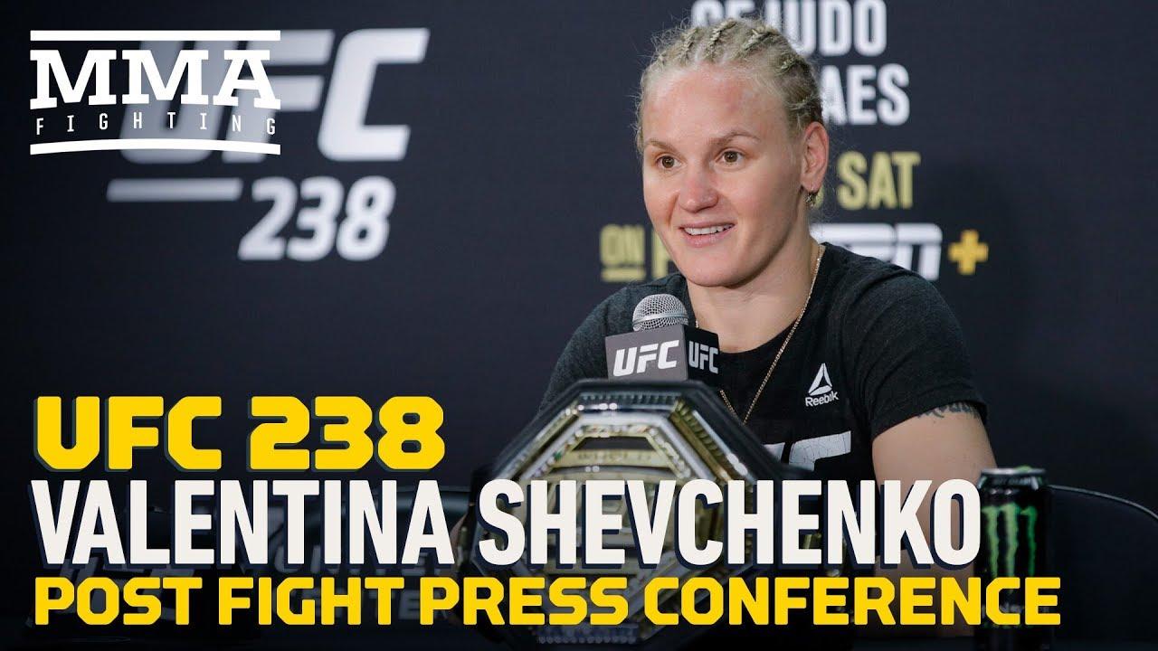 UFC 238: Valentina Shevchenko Post-Fight Press Conference - MMA Fighting