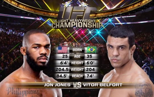 UFC 239 Free Fight: Jon Jones vs Vitor Belfort