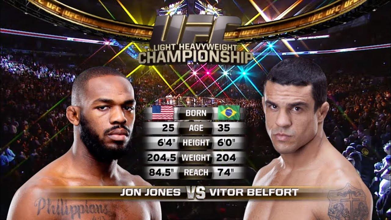 UFC 239 Free Fight: Jon Jones vs Vitor Belfort