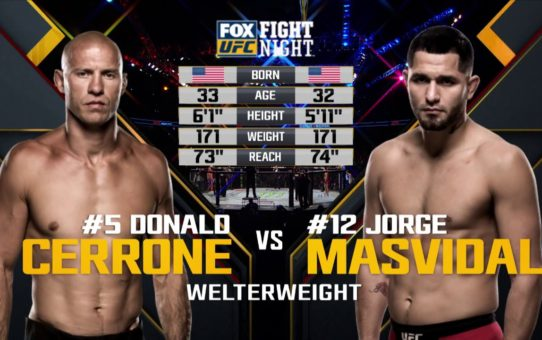 UFC 239 Free Fight: Jorge Masvidal vs Donald Cerrone
