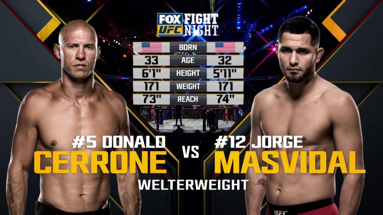 UFC 239 Free Fight: Jorge Masvidal vs Donald Cerrone