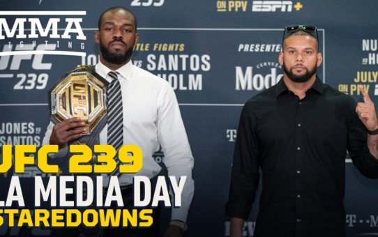 UFC 239: Los Angeles Media Day Staredowns – MMA Fighting