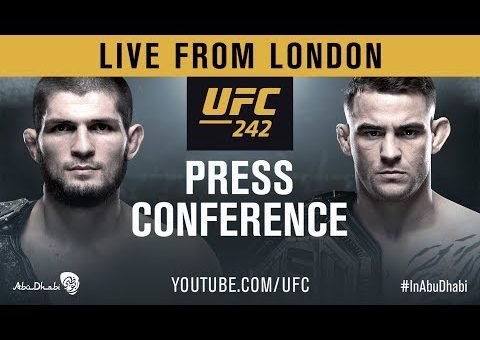 UFC 242 Press Conference: Khabib vs Poirier