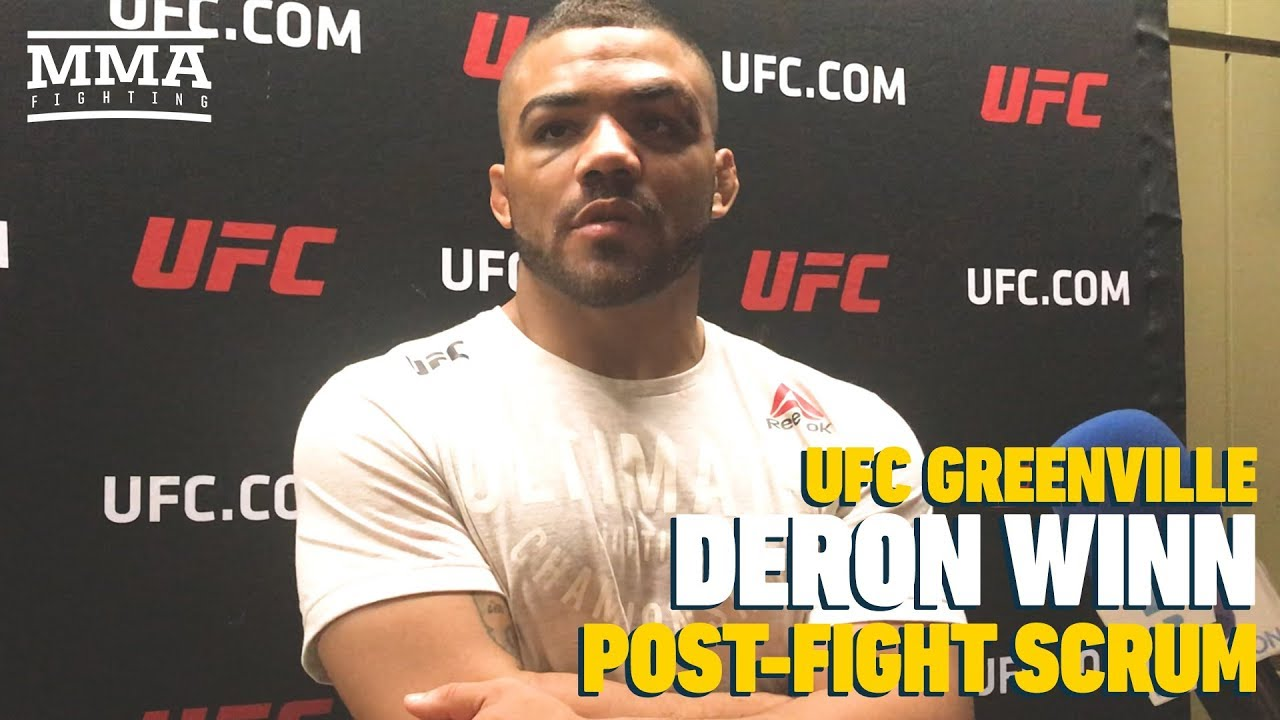 UFC Greenville: Deron Winn Grades 'Sloppy' UFC Debut A Six Out of 10