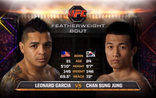 UFC Greenville Free Fight: The Korean Zombie vs Leonard Garcia