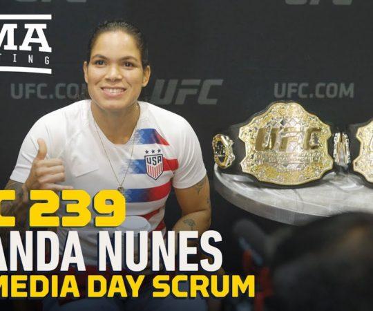 UFC 239: Amanda Nunes Says Dana White Predicted She Would Beat Cris Cyborg – MMA Fighting