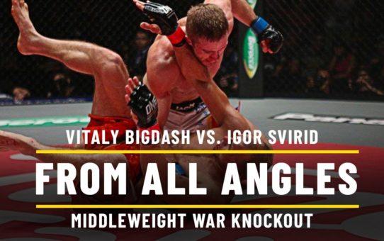 Vitaly Bigdash vs. Igor Svirid | ONE From All Angles
