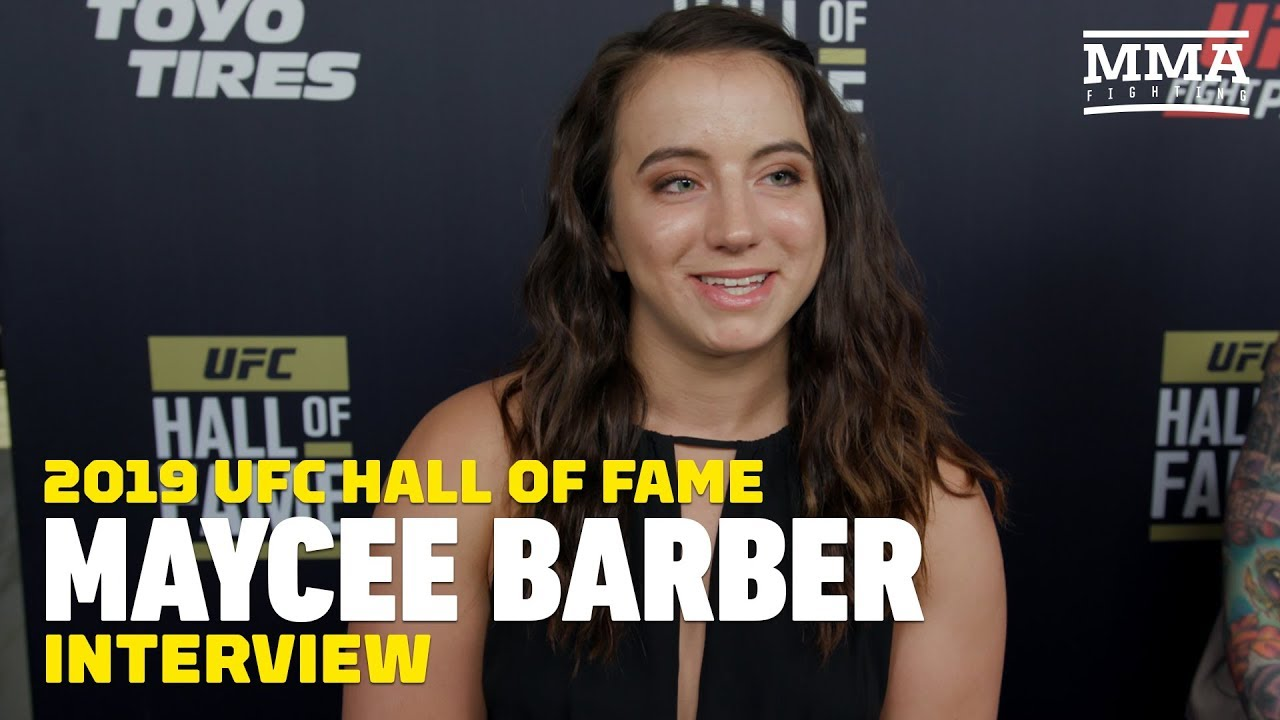Maycee Barber's Advice For Contender Series Hopefuls: 'You Have To Show That Brawler Inside Of You'