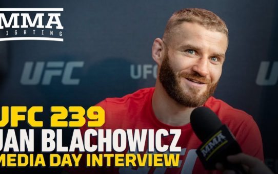 UFC 239: Jan Blachowicz Predicts Second-Round KO of Luke Rockhold – MMA Fighting