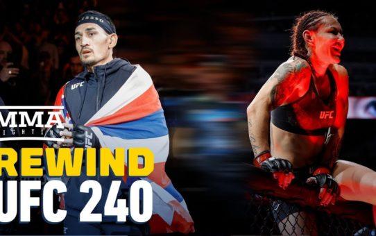 UFC 240 Rewind: Max Holloway Defends Title Against Frankie Edgar – MMA Fighting