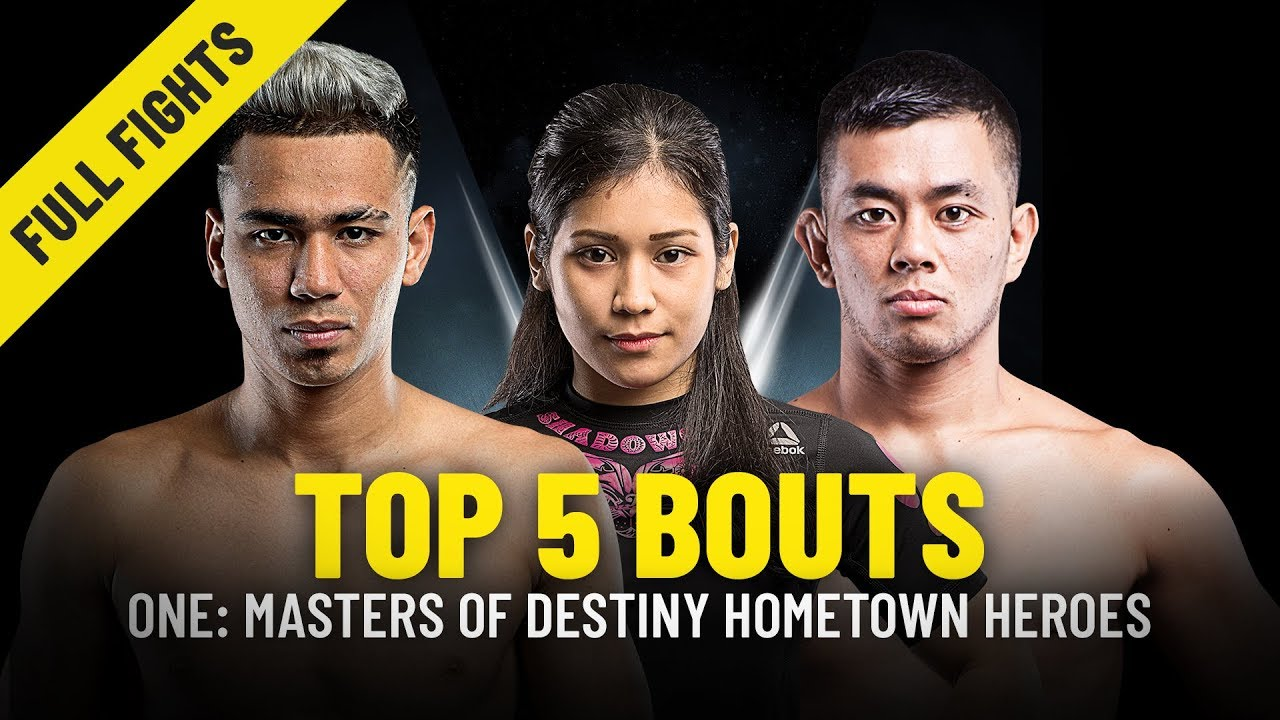Top 5 Bouts | Malaysian Athletes From ONE: MASTERS OF DESTINY | ONE Full Fights