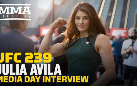 UFC 239: Julia Avila Vows To Become UFC Title Challenger In 2020 – MMA Fighting