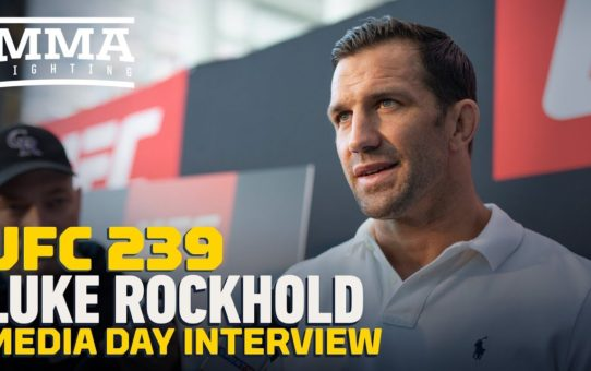 UFC 239: Luke Rockhold: 'I Don't Care About Anybody But One Guy, And That's Myself'
