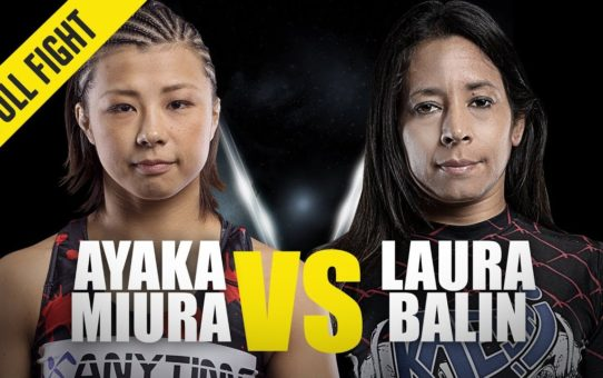 Ayaka Miura vs. Laura Balin | ONE Full Fight | Slick Submission | February 2019