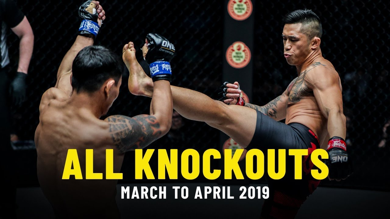 All Knockouts In March & April 2019 | ONE Highlights