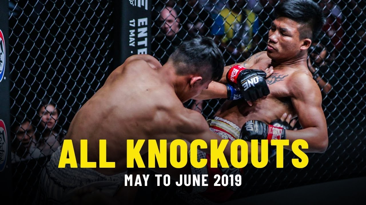 All Knockouts In May & June 2019 | ONE Highlights