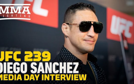 Diego Sanchez Calls Himself A 'Jedi' Ahead Of UFC 239: 'I Am A True Anomaly Of This Sport'