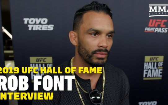 Rob Font Disappointed Over John Lineker Release: 'I Needed That Rematch' – MMA Fighting