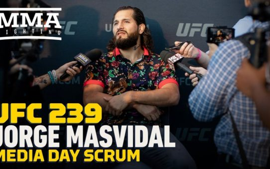 UFC 239: Jorge Masvidal Reveals Ben Askren 'F**king Froze' in Earlier Meeting – MMA Fighting