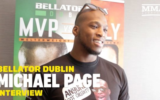 Bellator Dublin: Michael Page Not Taking 'Joke' Richard Kiely Seriously – MMA Fighting