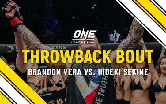 Brandon Vera vs. Hideki Sekine | ONE Full Fight | Throwback Bout