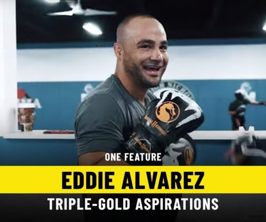 Eddie Alvarez's Triple-Gold Aspirations   ONE Feature