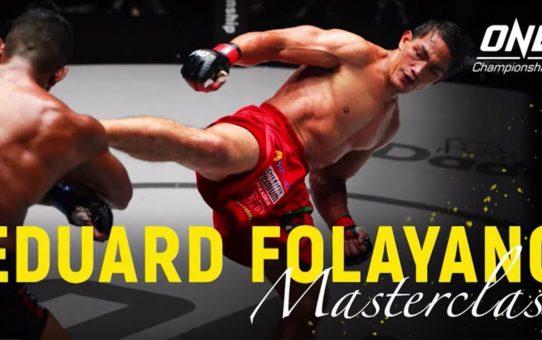 Eduard Folayang vs. Amir Khan   ONE Masterclass