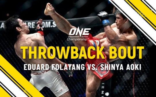 Eduard Folayang vs. Shinya Aoki | ONE Full Fight | Throwback Bout