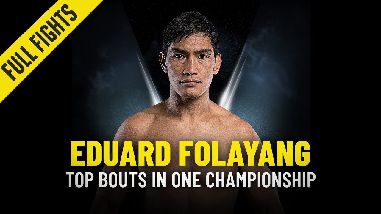 Eduard Folayang's Top 5 Bouts   ONE Full Fights