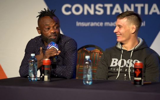EFC 80 Post Event Press Conference