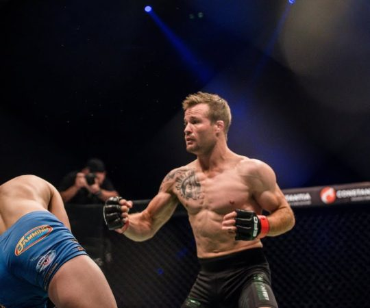 EFC 81 P Botha's KO Power