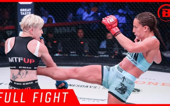 Full Fight | Julia Budd vs. Olga Rubin – Bellator 224