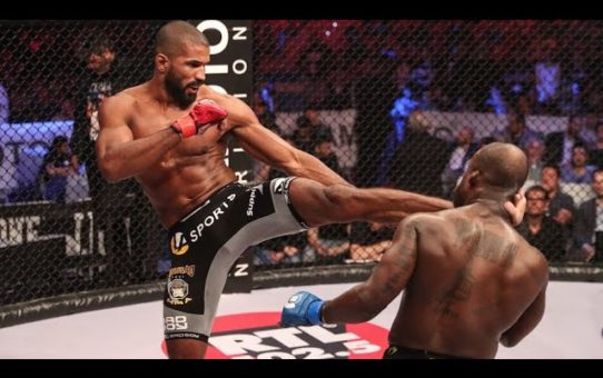 Full Fights | Rafael Carvalho vs. Melvin Manhoef 2 – Bellator 176