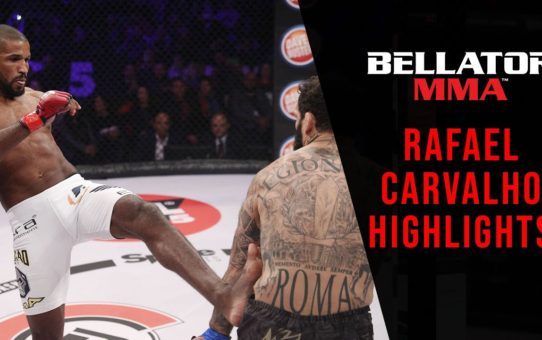 Highlights | Rafael Carvalho – #Bellator224