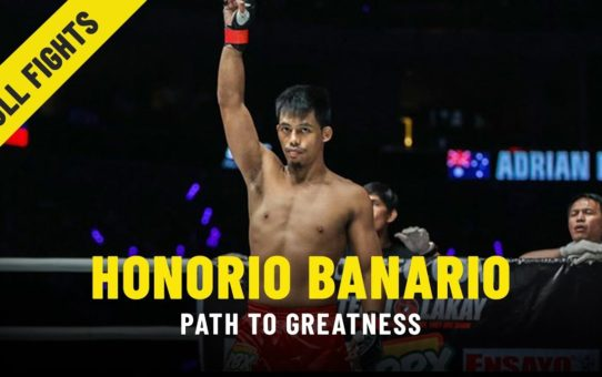 Honorio Banario's Path To Greatness   ONE Features & Full Fights