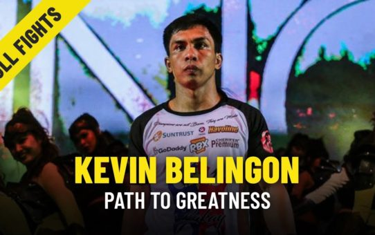 Kevin Belingon's Path To Greatness | ONE Features & Full Fights