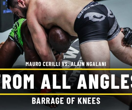 Mauro Cerilli vs. Alain Ngalani   ONE From All Angles