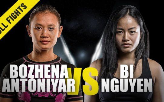 Bozhena Antoniyar vs. Bi Nguyen | ONE Full Fight | Atomweight Thriller | July 2019
