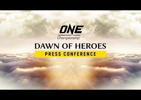 ONE Championship: DAWN OF HEROES Press Conference