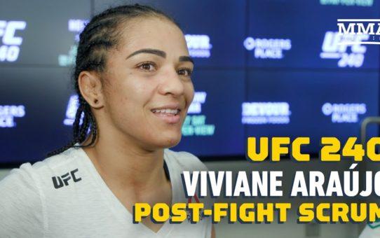 UFC 240: Viviane Araujo Offers To Train Women Suffering From Domestic Violence In Brazil
