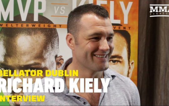 Bellator Dublin: Richard Kiely Says He Got Under 'Fake' MVP's Skin At Presser – MMA Fighting