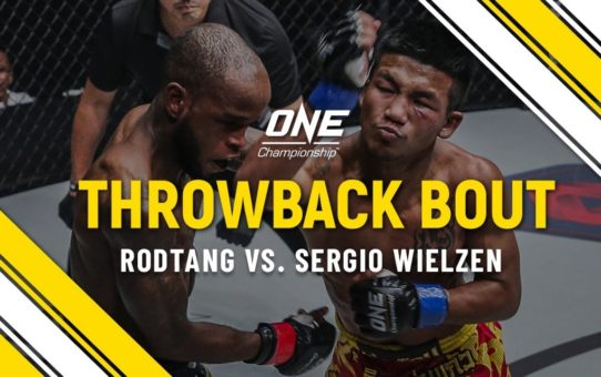 Rodtang vs. Sergio Wielzen | ONE Full Fight | Throwback Bout