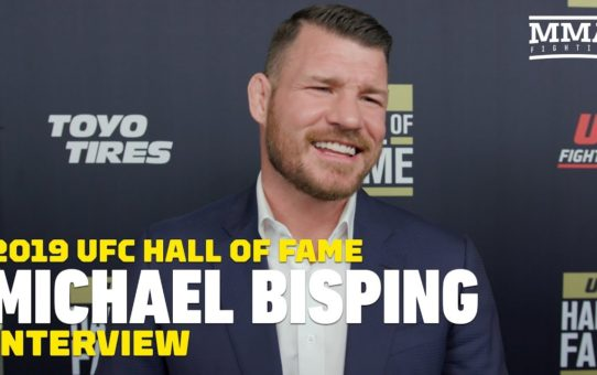 Michael Bisping Was Completely In The Dark About UFC Hall Of Fame Induction – MMA Fighting