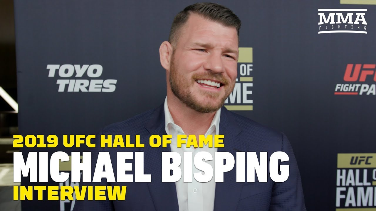 Michael Bisping Was Completely In The Dark About UFC Hall Of Fame Induction - MMA Fighting