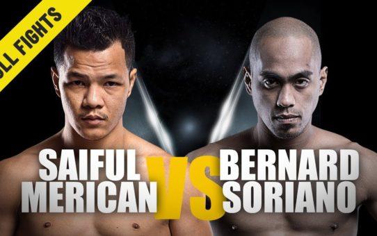 Saiful Merican vs. Bernard Soriano | Comeback Win | February 2017