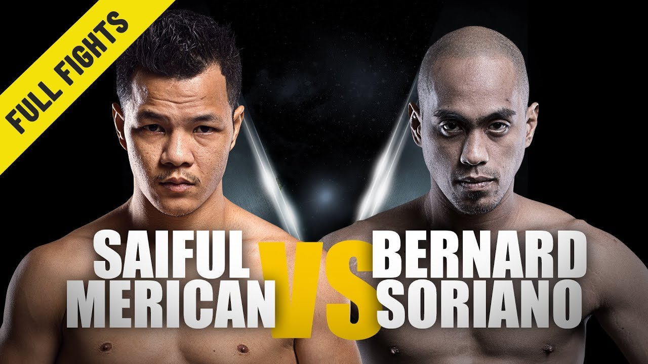 Saiful Merican vs. Bernard Soriano | Comeback Win | February 2017