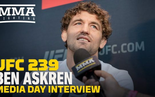 UFC 239: Ben Askren Doesn't Dislike Jorge Masvidal: 'It's Unhealthy And Unproductive' – MMA Fighting