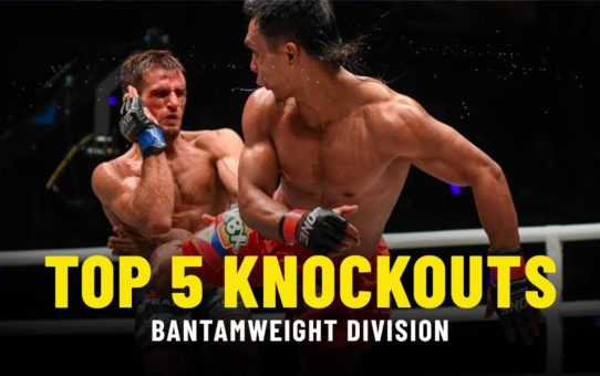 Top 5 Knockouts | Bantamweight Division | ONE Highlights
