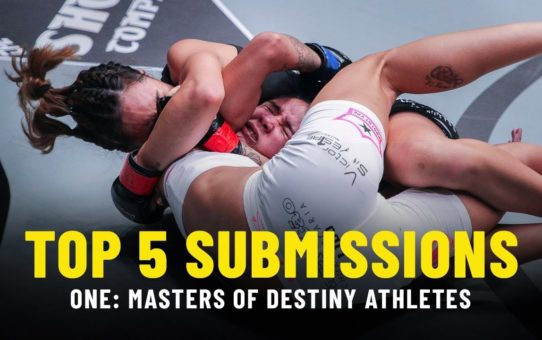 Top 5 Submissions | ONE: MASTERS OF DESTINY Athletes | ONE Highlights