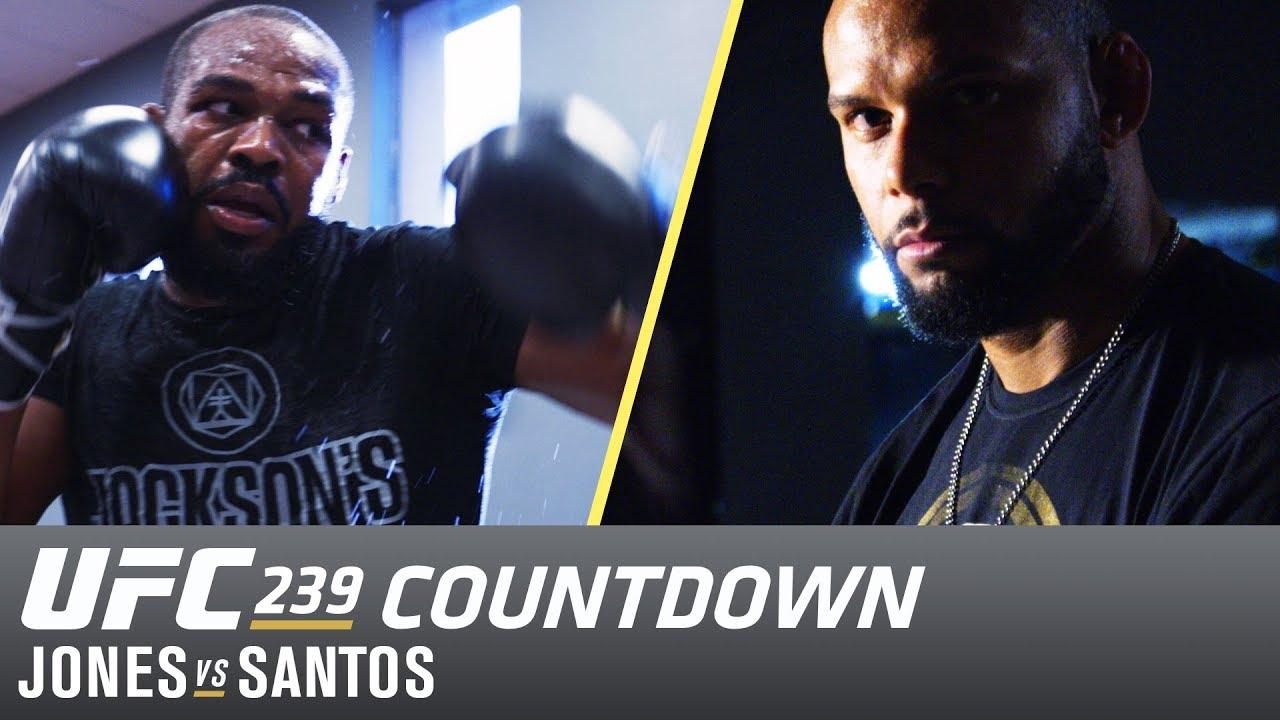 UFC 239 Countdown: Jones vs Santos